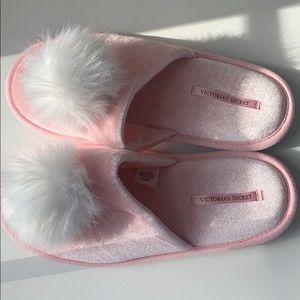 Victoria's Secret Puff Slippers